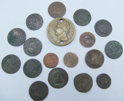 Monnaies Royales. (29).  Henri III (2), Henri...