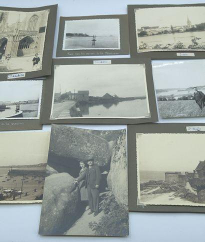 20 PHOTOGRAPHIES BRETAGNE : Diverses époques....