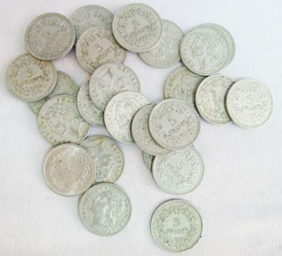 Lot de Monnaies France. Diverses Epoques...