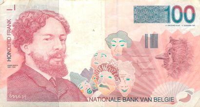 17 Billets de Banque et 1 pièce de Monnaie...