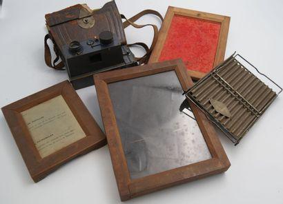 Ensemble Photographique ancien :  Appareil...