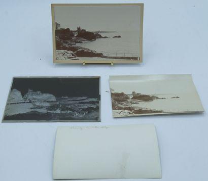 92 PHOTOGRAPHIES : 24 plaques de Verre, 2...