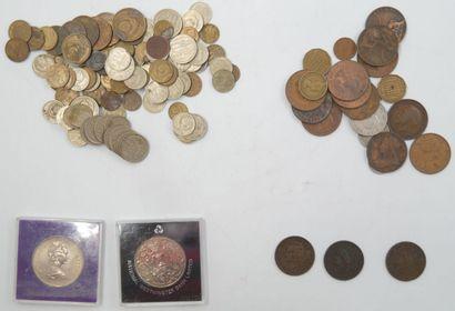 Monnaies Etrangères. Diverses Epoques.  CCCP...