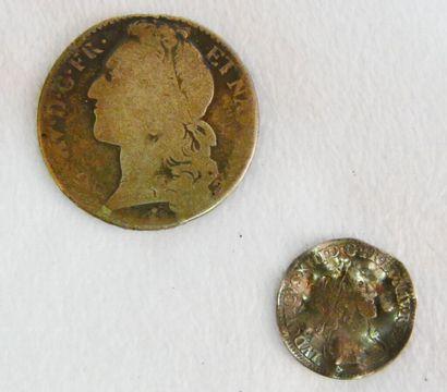 Monnaies Royales - Argent.  Louis XV, Demi...