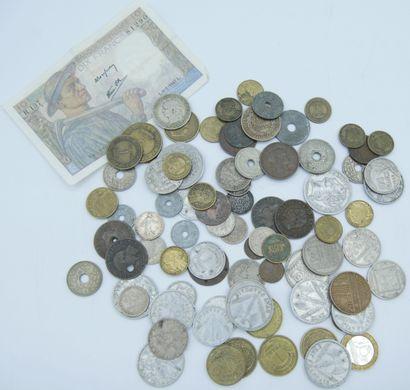 Monnaies France (81), Jeton (2) et Billet...