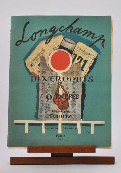 «Longchamp» revue composée de 10 croquis...