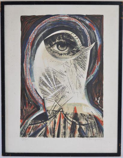 Henry de WAROQUIER (1881-1970)  L'oeil  Gravure...