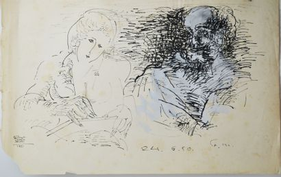 Fikret Saygi MUALLA (1903-1967)  Couples...