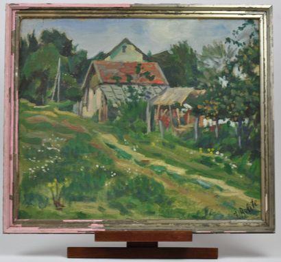 Jacob BILITE (1877 -?)  Maison de campagne...