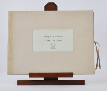 Joseph HECHT (1891-1951)  Carnet «croquis...