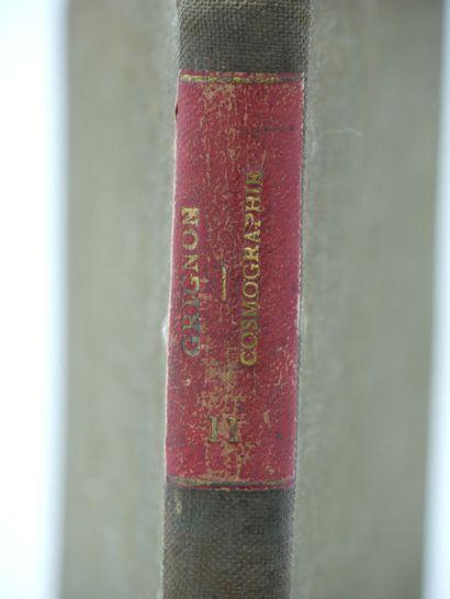 GRIGNON (A.). Traité de Cosmographie. Deuxième...