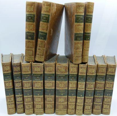 [HISTOIRE DE France]. Ensemble 21 Volumes....