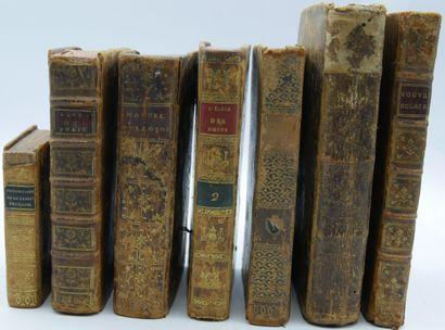 [EDUCATION & RELIGION]. Ensemble de 7 Volumes....