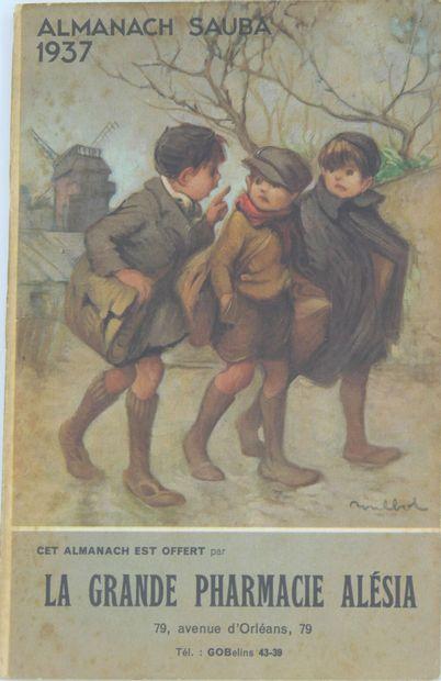 8 LIVRES & ALMANACHS : Divers Thèmes.  Encyclopédie des Ouvrages de Dames par Th.De...