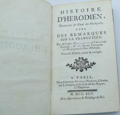 [CLASSIQUE & DIVERS]. Ensemble de 4 Volumes.  François de Salignac de la Mothe Fénélon....