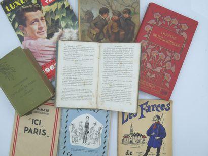 8 LIVRES & ALMANACHS : Divers Thèmes.  Encyclopédie...
