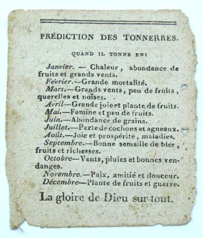 MOULT (Thomas-Joseph). Prophéties Perpétuelles, Très-Anciennes et Très-Certaines,...