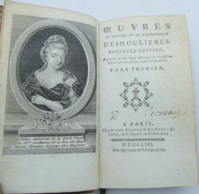 [LITTERATURE]. Ensemble de 6 Volumes.  Regnard. Oeuvres. Nouvelle Edition, Tome...