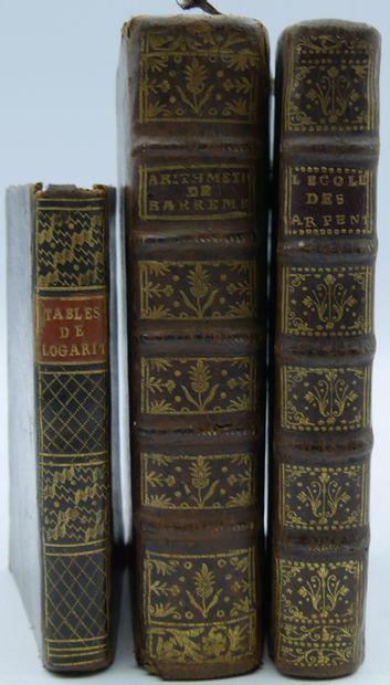 [MATHEMATIQUE]. Ensemble de 3 Volumes.  L'Arithmétique...