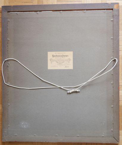 D'après Edward Algernon S. DOUGLAS (1850-1920)(?)  Homewards  Gravure anglaise...