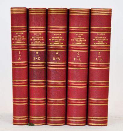 BIOCHE (M)  Dictionnaire de procédure civile...