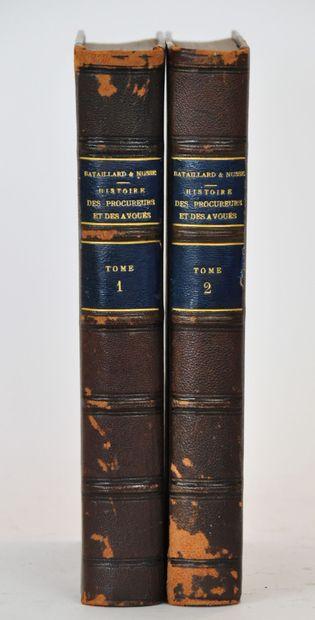 BATAILLARD (Charles) et NUSSE (Ernest). Histoire...