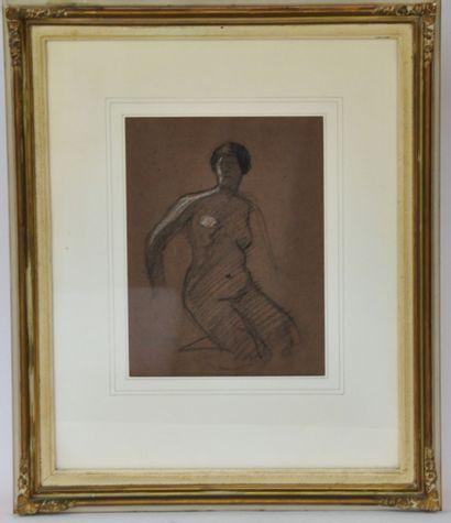 Jean-Gabriel DOMERGUE (1889-1962)  Etude...