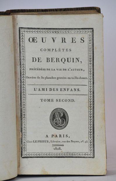 BERTIN (Antoine de)  OEuvres complètes. 7 volumes (Manque les volumes 1/5/7)  Paris,...
