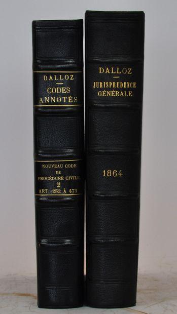 DALLOZ Ainé (Sous la direction de)  Jurisprudence...