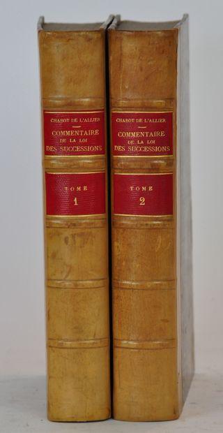 CHABOT de l'Allier  Commentaire sur la loi...
