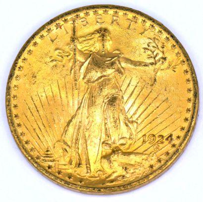Une Monnaie OR - Saint Gaudens - Double Eagle
