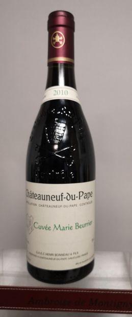1 bouteille 1 bouteille ChâteauNEUF du PAPE...