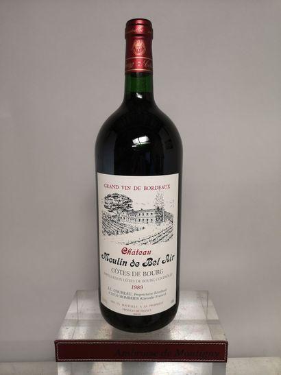 1 magnum Château MOULIN DE BEL AIR - Côtes...