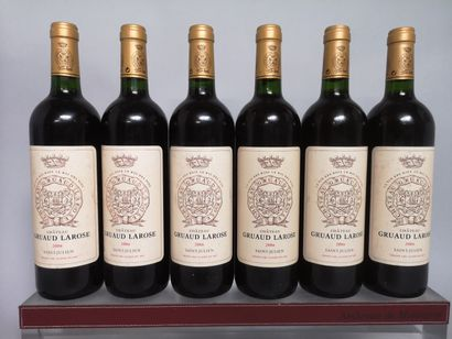 6 bouteilles Château GRUAUD LAROSE - 2e GCC...