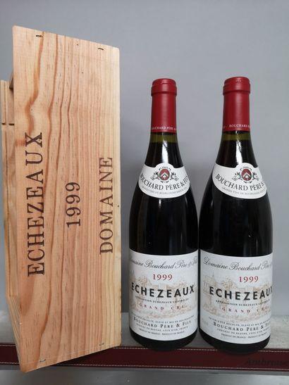 2 bouteilles ECHEZEAUX Grand Cru - Bouchard...