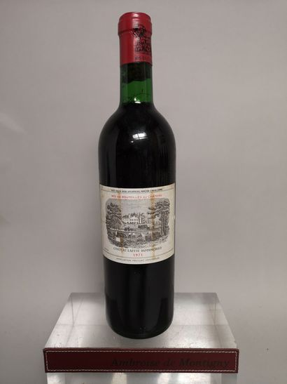 1 bouteille Château LAFITE ROTHSCHILD - 1er...