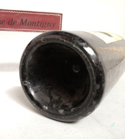 1 bouteille Château TROPLONG MONDOT - 1er cru Saint Emilion 1913 Etiquette légèrement...