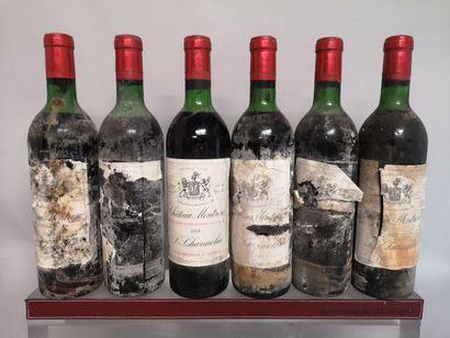 6 bouteilles Château MONTROSE 2e GCC Saint...