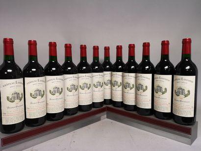 12 bouteilles 12 bouteilles Château LANESSAN...