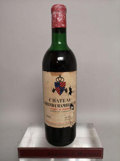1 bouteille Château GRAND CHAMBELLAN - Lalande...