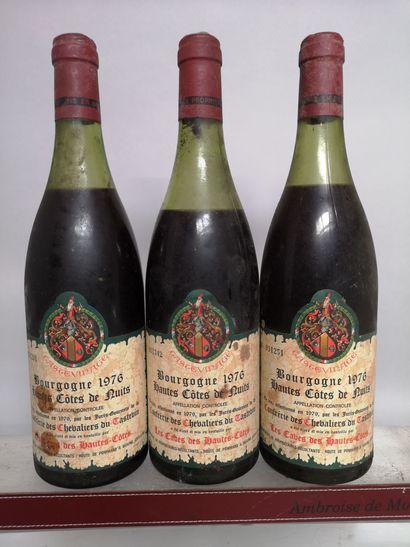 3 bouteilles HAUTES COTES DE NUITS - Caves...