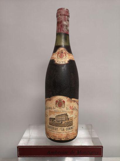 1 bouteille SANTENAY 1er Cru