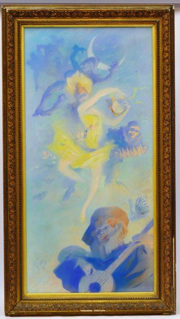 Jules CHERET (1836-1932)  La danseuse et...