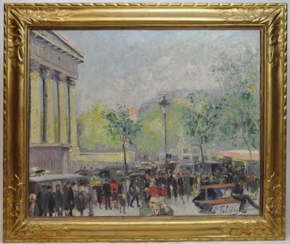 Edouard FEBVRE (1885-1967)  Place de la Madeleine...