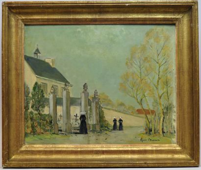 Ecole française du début du XXème siècle...