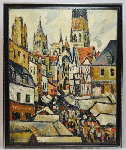 Pierre-Jean DUMONT (1884-1936)  Jour de...