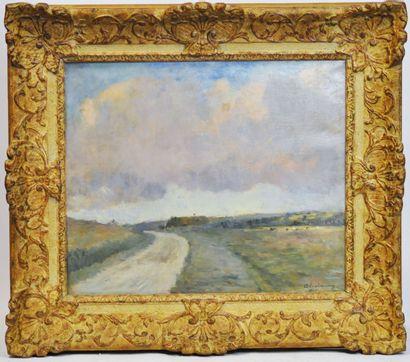 Albert LEBOURG (1849-1928)  Hondouville-sur-Iton...