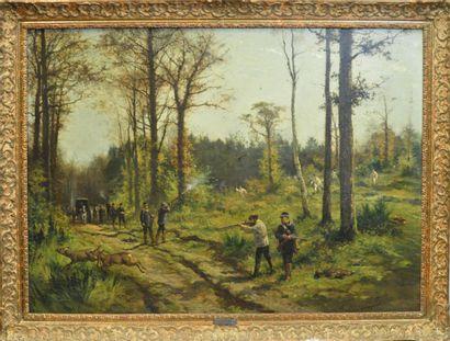 Charles Olivier DE PENNE (1831-1897)  Scène...