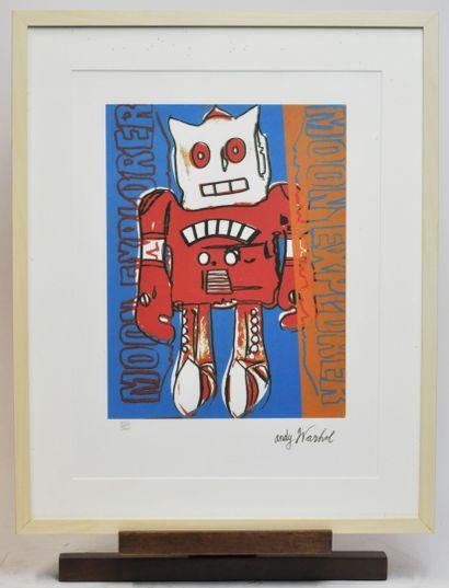 Andy WARHOL (1928-1987)  Le robot ou