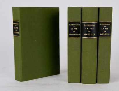 PERRUCHOT (Henri) Suite de 4 livres comprenant:...